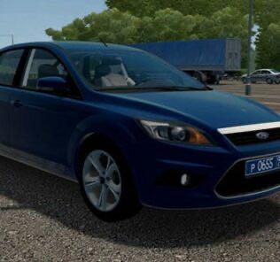 Ford Focus 2 2008 Hatchback 2.0i Mod for City Car Driving v.1.5.9