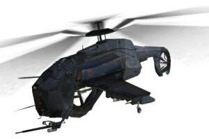 Half Life 2 Hunter Chopper Mod for Brick Rigs