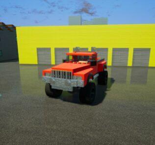 Hunter Takedown 4x4 Mod for Brick Rigs