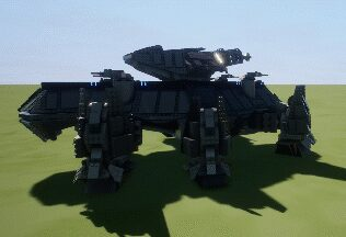 Mark XXIX Mastodon Hexapedal Heavy Assault Walker Mod for Brick Rigs