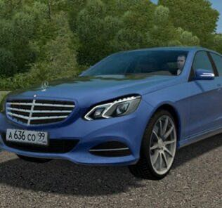 Mercedes-Benz E300 (W212) Stage 1 Mod for City Car Driving v.1.5.9