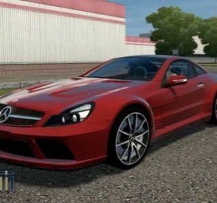 Mercedes-Benz SL65 AMG V12 BiTurbo Mod for City Car Driving v.1.5.9