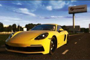 Porsche 718 Cayman GTS 2018 Mod for City Car Driving v.1.5.9