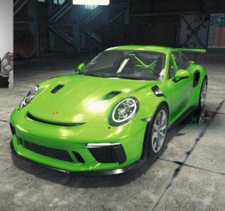 Porsche 911 GT3 RS Mod for Car Mechanic Simulator 2018