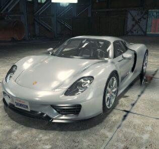 Porsche 918 Mod for Car Mechanic Simulator 2018