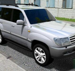 Toyota Land Cruiser 105 Mod for City Car Driving v.1.5.9
