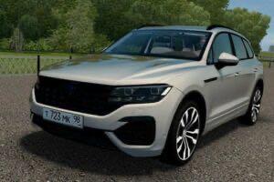 Volkswagen Touareg R-Line 2019 Mod for City Car Driving v.1.5.9