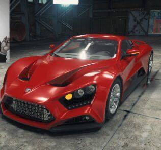 Zenvo ST1 Mod for Car Mechanic Simulator 2018