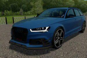 Audi RS6 (C7) Avant ABT Tuning Mod for City Car Driving v.1.5.9