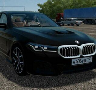 BMW 530d xDrive M Sport Edition 2020 Mod for City Car Driving v.1.5.9