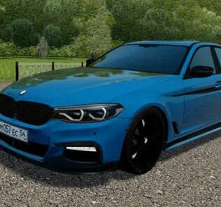 BMW 540i (G30) Tuning Mod for City Car Driving v.1.5.9