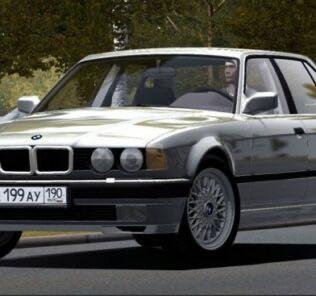 BMW 735i E32 1994 Mod for City Car Driving v.1.5.9