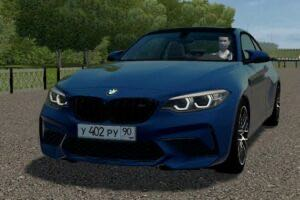 BMW M2 Competition 2018 (Drift Version) Mod for City Car Driving v.1.5.9