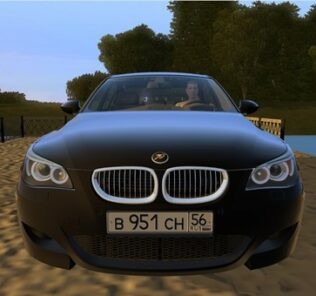 BMW M5 E60 Tuning Mod for City Car Driving v.1.5.9