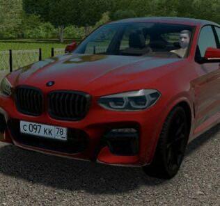 BMW X4 M40D (G02) Mod for City Car Driving v.1.5.9