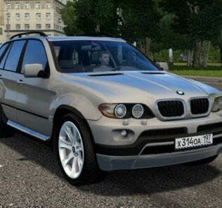 BMW X5 E53 4.8is Mod for City Car Driving v.1.5.9