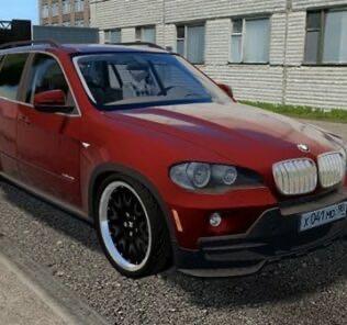 BMW X5 E70 xDrive 3.0i Mod for City Car Driving v.1.5.9
