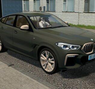 BMW X6 M50i (G06) 2020 Mod for City Car Driving v.1.5.9