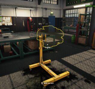 Engine Stand Mod Mod for Car Mechanic Simulator 2021