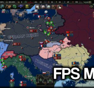 FPS Map Mod for Hearts of Iron IV [HOI4 Mods]