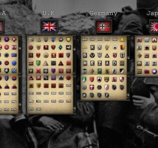 GDW's Army Insignias Mod for Hearts of Iron IV [HOI4 Mods]