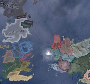 Hearts of Ice and Fire – a Game of Thrones mod Mod for Hearts of Iron IV [HOI4 Mods]