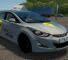 Hyundai Elantra 1.8 (Yandex Taxi) Mod for City Car Driving v.1.5.9