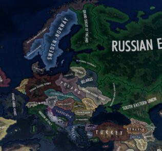 Red Flood Mod for Hearts of Iron IV [HOI4 Mods]