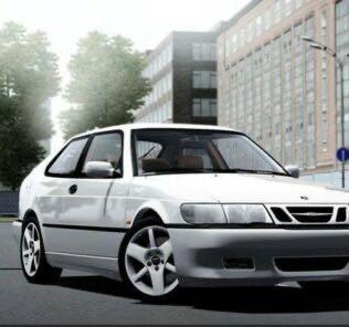Saab 9-3 Aero 2002 Mod for City Car Driving v.1.5.9