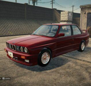 BMW M3 E30 Mod for Car Mechanic Simulator 2021