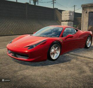 Ferrari 458 Mod for Car Mechanic Simulator 2021